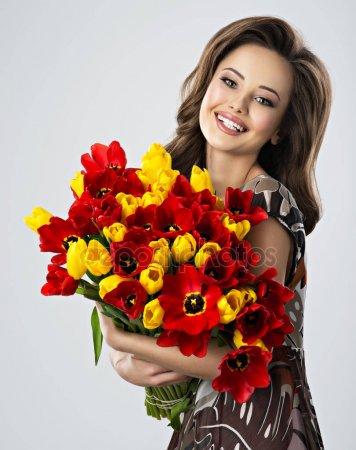 Фото доставки цветов в Белой Церкви