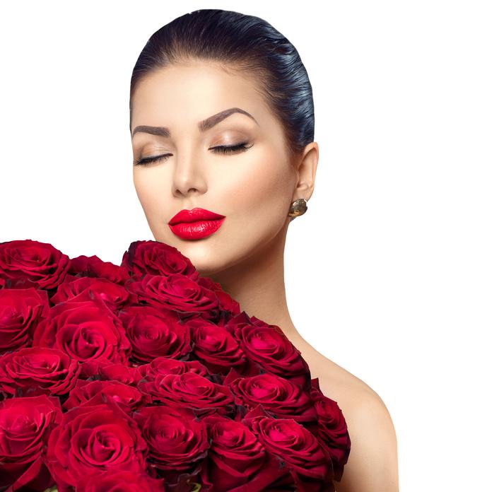 Фото доставки 101 розы