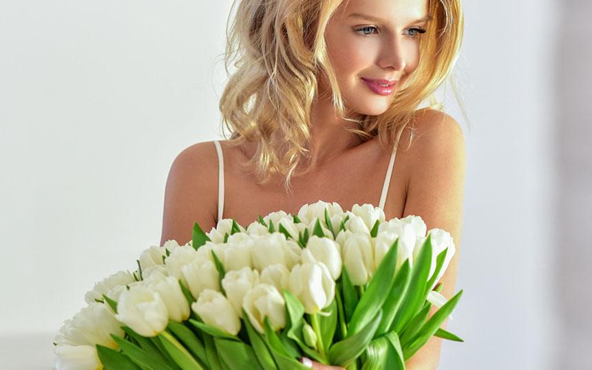 Фото доставки цветов в Харькове