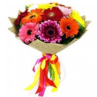 Bouquet of 15 gerberas