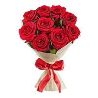 Wonderful bouquet of 9 red roses