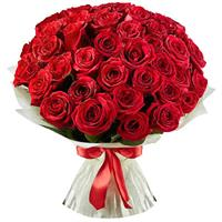 Beautiful bouquet of 51 red roses
