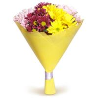 Bouquet of 5 chrysanthemums