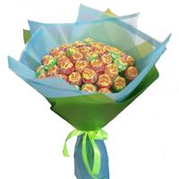 Bouquet of 51 Chupa Chups