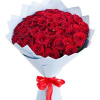 Bouquet of 31 red roses