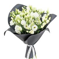 Bouquet of  white eustoma