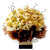 Bouquet of 32 sweets Ferrero