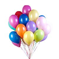 Multicolored balloons