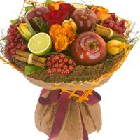 Original autumn bouquet