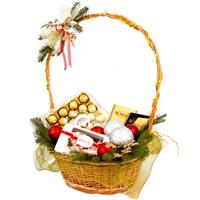 Gift basket for the New Year